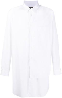 Comme des Garçons Homme Plus Long-Line Asymmetric Shirt