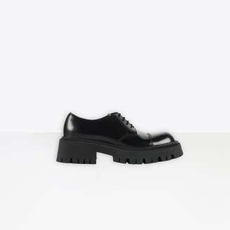 Balenciaga Tractor 65mm Lace-Up Derby