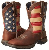 Durango RD4414 - Flag (Dark Brown) Women's Pull-on Boots