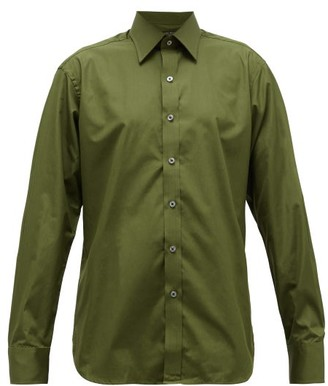 Emma Willis Supraluxe Cotton-poplin Shirt - Khaki