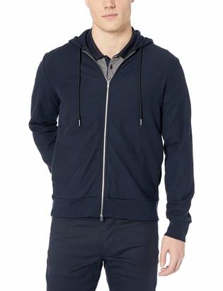 Theory Men's Essential Cotton Stretch Zip Hoodie