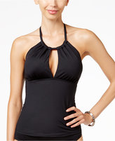 LaBlanca La Blanca Island Goddess High-Neck Keyhole Tankini Top Women's Swimsuit