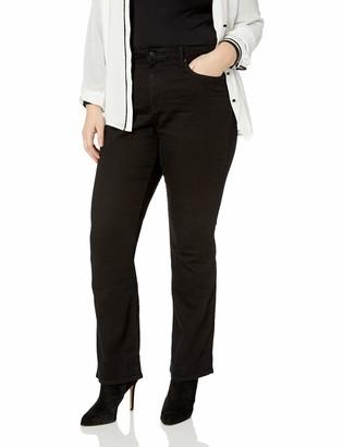 NYDJ Women's Plus Size Barbara Bootcut Jeans