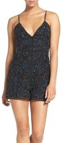 Needle & Thread Women's Embroidered Romper