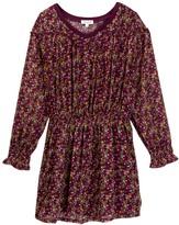 Splendid Print Crinkle Chiffon Dress (Big Girls)