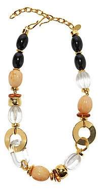 Lizzie Fortunato Women's Como Goldplated, Shell & Multi-Beaded Necklace