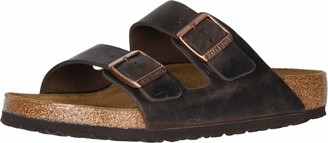 Birkenstock Arizona Greased Leather Men's Sandals