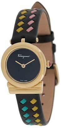 Salvatore Ferragamo Gancini 22mm watch