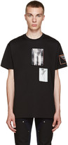 Givenchy Black Patchwork T-Shirt