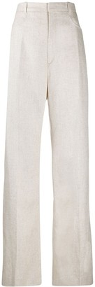Jacquemus Tailored Linen Trousers