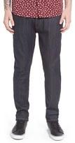 Topman Men's Slim Fit Raw Denim Jeans