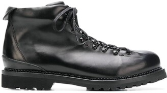 Buttero lace-up boots