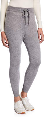 Majestic Filatures Wool/Cashmere Pull-On Drawstring Jogger Pants