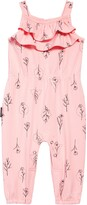 Thumbnail for your product : TINY TRIBE Floral Tie Shoulder Jumpsuit