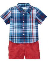 Ralph Lauren Boy Shirt, Belt & Short Set