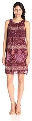 Robbie Bee Women's Missy Paisley Dress