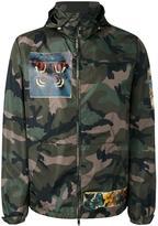 Valentino camouflage wind breaker - men - Polyamide/Polyester - 50