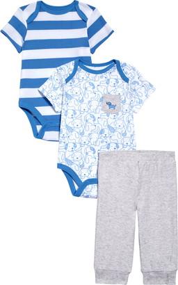 Little Me Puppy Bodysuits & Sweatpants Set