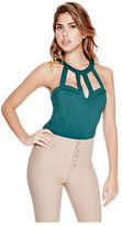 G by Guess GByGUESS Women's Jeannie Cutout Bustier