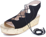 ELOQUII Plus Size Nicola Flatform Sandal
