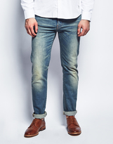 Edwin ED-80, Slim Tapered, 12.5oz, Light Blue Washed Jeans