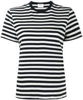 RE/DONE stripe print short sleeve t-shirt - women - Cotton - XS