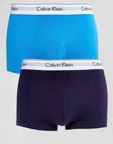 Calvin Klein Trunks 2 Pack Modern Cotton