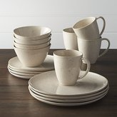 Crate & Barrel Wilder 16-Piece Dinnerware Set
