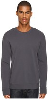 Vince Side Zip Long Sleeve Crew Neck Sweater Men's Sweater