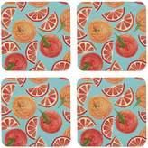 Rosa & Clara Designs - Oranges Coasters Set of Four