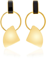 Marni Gold-Tone Clip Earrings