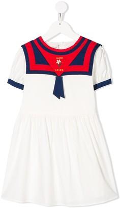 Gucci Kids Sailor-Style Dress