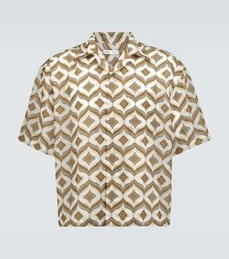 Cmmn Swdn Kim camp-collar shirt