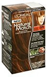 L'Oreal Natural Match Hair Color, 5R Medium Reddish Chestnut (6 Pack)