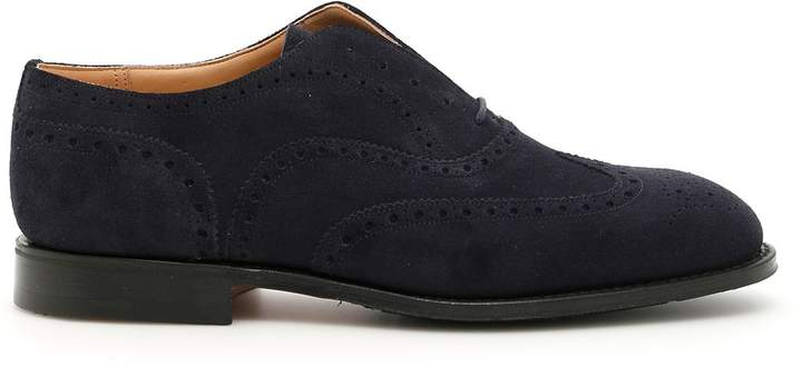 Church's Suede Lace-ups