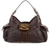 Etro Leather Shoulder Bag