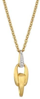 Marco Bicego Lucia 18K Yellow Gold & Diamond Pendant Necklace
