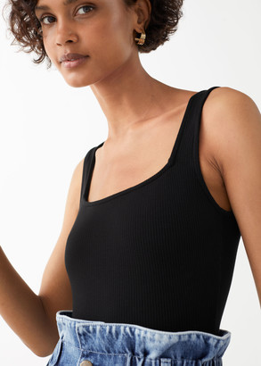 And other stories Square Neck Bodysuit