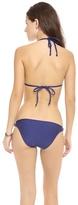 Splendid Marcel Stripe Reversible Triangle Bikini Top