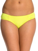Seafolly Solid Pleated Hipster Bikini Bottom 7535039