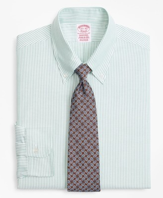 Brooks Brothers Original Polo Button-Down Oxford Traditional Fit Dress Shirt, Candy Stripe