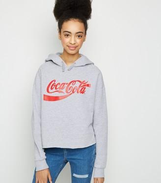 New Look Girls Coca-Cola Slogan Hoodie