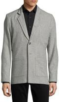 Lot 78 Wool Spread Collar Blazer