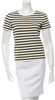 A.L.C. Striped Short Sleeve Top