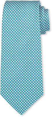 Kiton Men's Geometric Fish Silk Tie