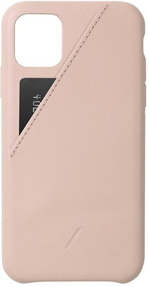 Native Union Clic Card iPhone 11 Pro Max case Nude