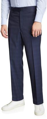 Gabriela Hearst Men's Martin Plaid Suit Separate Trousers