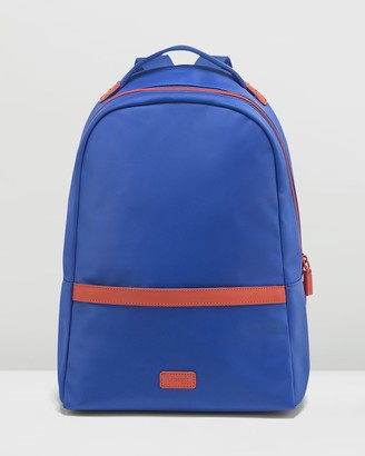 Lipault Paris - Women's Blue Backpacks - Lady Plume Bi-Colour Backpack Medium - Size One Size at The Iconic