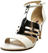French Connection Lia Women Open Toe Leather Sandals.