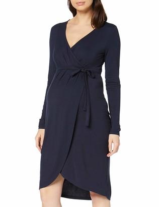 Mama Licious Mamalicious Women's Mlmalie Tess L/S Jersey Dress Combi